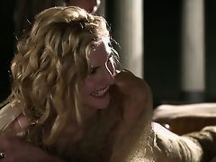 Spartacus: Viva Bianca получает глубокий массаж