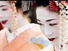 Красивые гейши в японском порно
